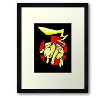 Pika smash bros Framed Print