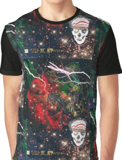 Life and Death Skull Boy Graphic T-Shirt