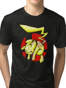 Pika smash bros Tri-blend T-Shirt