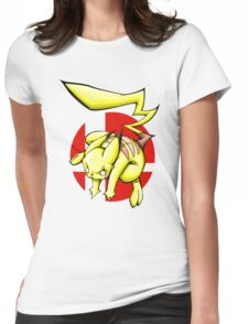Pika smash bros Womens Fitted T-Shirt
