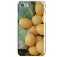 Kraut und Zitronen II iPhone Case/Skin