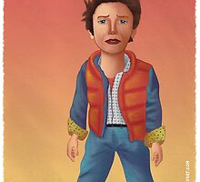 Marty McFly by iansmileyart