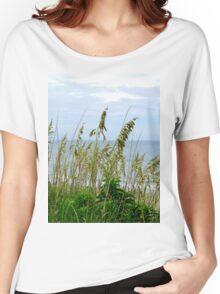 Dune Grass, Nags Head Women's Relaxed Fit T-Shirt