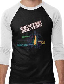 ESCAPE FROM NEW YORK - ISLAND MAP (1) Men's Baseball ¾ T-Shirt