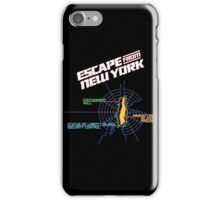 ESCAPE FROM NEW YORK - ISLAND MAP (1) iPhone Case/Skin