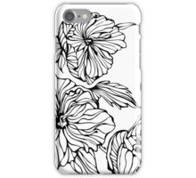 Flowers. Peonies iPhone Case/Skin