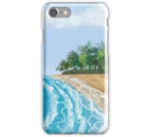 Beach Sky & Waves iPhone Case/Skin