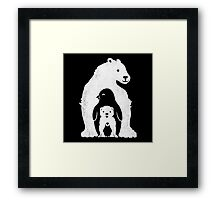 Arctic Friends Framed Print
