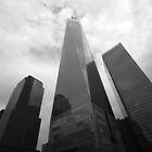 Freedom Tower-scape by John Schneider