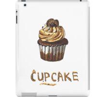Cupcake for breakfast iPad Case/Skin