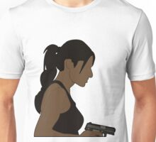 Shaw - Girl with a gun Unisex T-Shirt