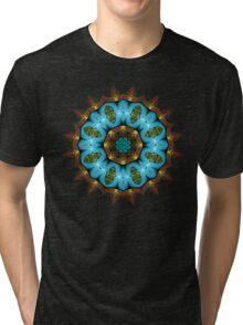 Fractal mandala Tri-blend T-Shirt