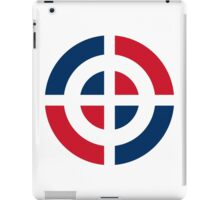 Dominican Air Force - Roundel iPad Case/Skin