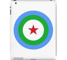Djibouti Air Force - Roundel iPad Case/Skin