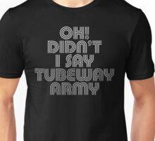 Tubeway Army Gary Numan 'Oh! Didn't I Say' Design Unisex T-Shirt
