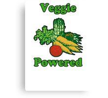 Veggie Powered Canvas Print