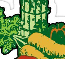 Veggie Powered Sticker