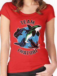 Team Iwatobi Variant Women's Fitted Scoop T-Shirt