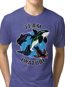 Team Iwatobi Variant Tri-blend T-Shirt
