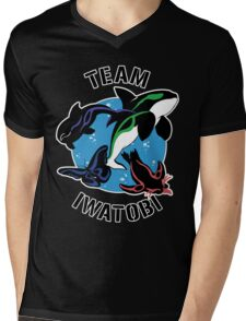 Team Iwatobi Variant Mens V-Neck T-Shirt