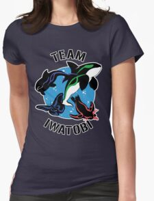 Team Iwatobi Variant Womens Fitted T-Shirt