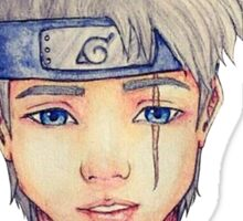Kakashi _ Real face water color Sticker