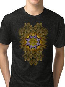 Fractal manipulation Tri-blend T-Shirt