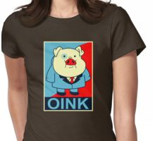 oink  Womens Fitted T-Shirt