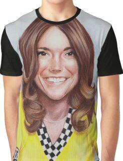 Karen Carpenter in yellow Graphic T-Shirt