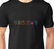 Apple Mac icons - back in the days in colour Unisex T-Shirt
