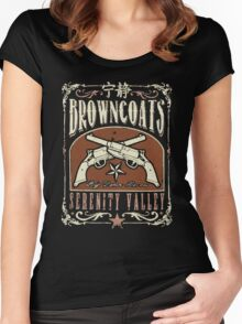 Firefly Browncoats Serenity Valley Women's Fitted Scoop T-Shirt