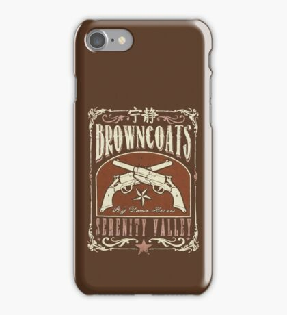Firefly Browncoats Serenity Valley iPhone Case/Skin