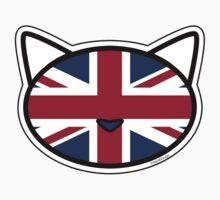 Meow Union Jack Kids Tee