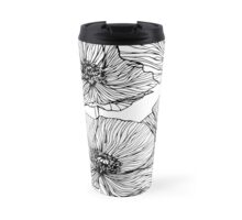 Flowers. Poppies Travel Mug
