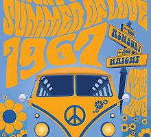 Haight Ashbury Summer Of Love by Groovy-Frisco