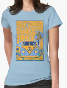 Haight Ashbury Summer Of Love Womens Fitted T-Shirt