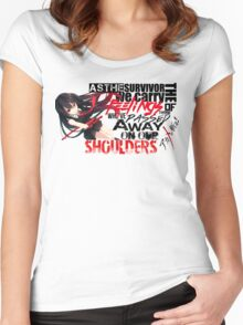 Akame Ga Kill! Women's Fitted Scoop T-Shirt