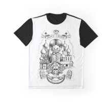 Cat mafija Tattoo Graphic T-Shirt