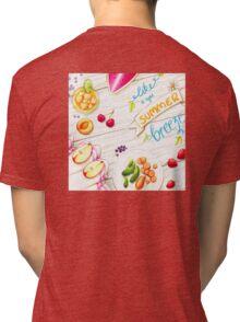 """wall art """"like a light summer breeze"""" Tri-blend T-Shirt"""