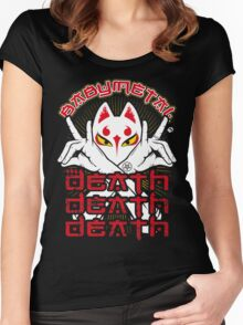 Babymetal-Kitsune Death Death Death (Unofficial) Women's Fitted Scoop T-Shirt