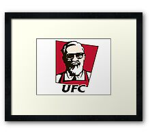 Conor McGregor | UFC | KFC Framed Print