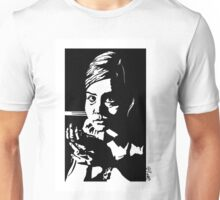 Clara in the dark Unisex T-Shirt