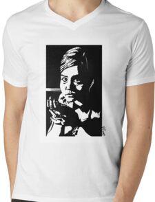 Clara in the dark Mens V-Neck T-Shirt