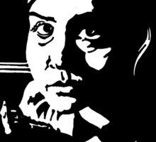 Clara in the dark Sticker
