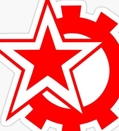 New communist symbol Sticker