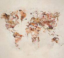 world map  by bri-b