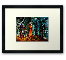 The Wanderer... Framed Print