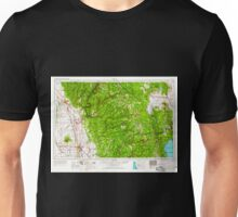 USGS TOPO Map California CA Chico 299746 1958 250000 geo Unisex T-Shirt