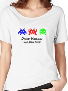 David Vincent has seen them parody Invaders Women's Relaxed Fit T-Shirt