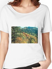 New England Fall Foliage Women's Relaxed Fit T-Shirt